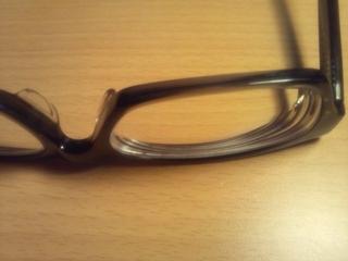ウェリントンメガネのアップ